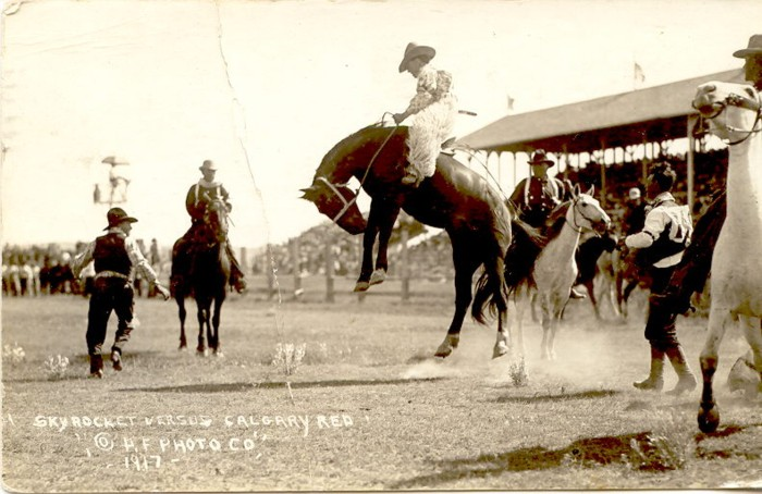 Skyrocket Vs. Calgary Red, 1917